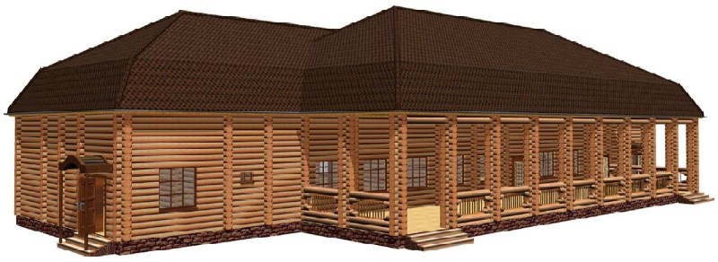 108 2708 15 - Выставка деревянного строительства